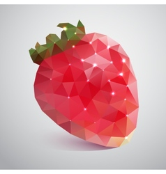 Strawberries of the triangles vector image