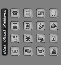telephone icon s vector image