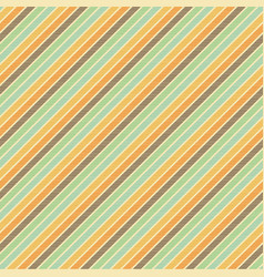 vintage striped background seamless pattern vector image