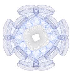 watermark for certificate diploma vector image