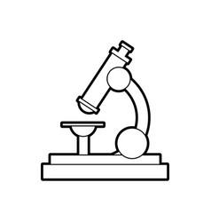 school microscope science biology icon vector image