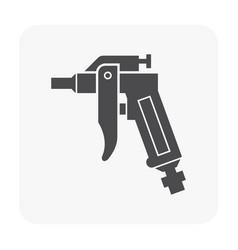 Air compressor pump vector