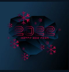 Background with the inscription happy new year vector