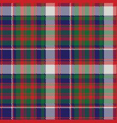 British tartan check plaid seamless pattern vector