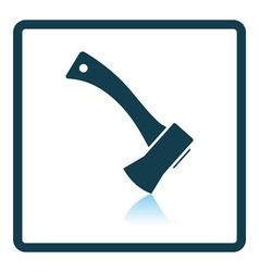 Camping axe icon vector image