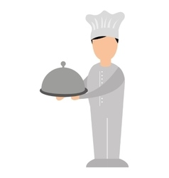 chef man avatar character vector image