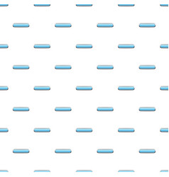 Light blue rectangular button pattern vector
