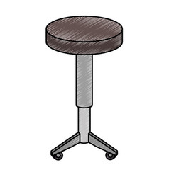 seat chair isolated icon vector image
