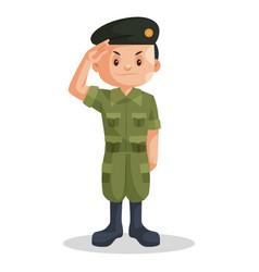 Soldier boy vector