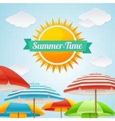 Summer Card vector image