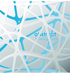 Abstract blue and white mash with place for your vector image vector image