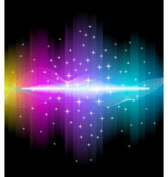 electric light background vector image