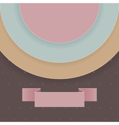 Abstract background in retro style vector