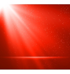 Abstract magic red light background vector image