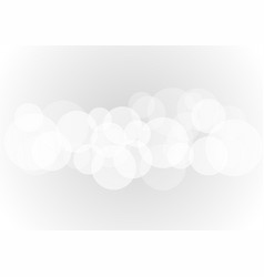 abstract white transparent circle on background vector image