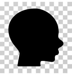 Boy Profile Icon vector