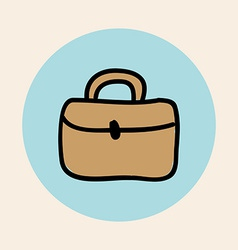 briefcase design vector image
