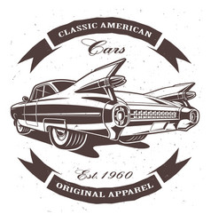 Classic american vector