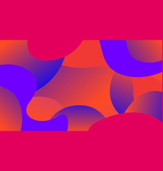 Colorful free form shapes gradient simple blob vector