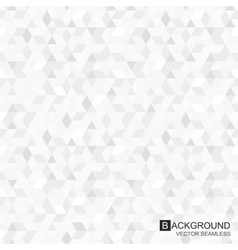 Geometric pattern - seamless background vector image