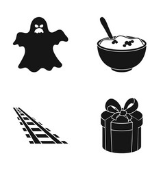 Holiday cinema tourism and other web icon in vector
