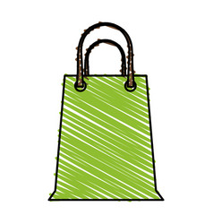 Paper bag design vector