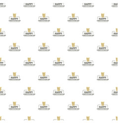 paper constitution day pattern seamless vector image