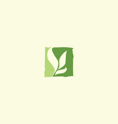 plants logo icon vector image