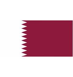 Qatar national flag vector