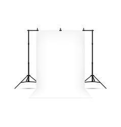 White photo background vector image