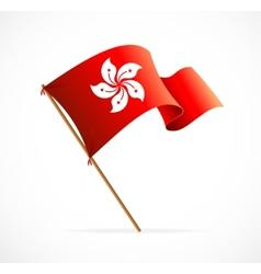 flag of Hong Kong vector image vector image