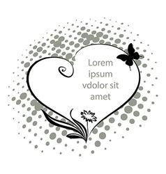 Heart vector image vector image
