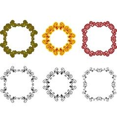 pattern frames vector image