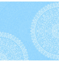 background with ornaments vector image