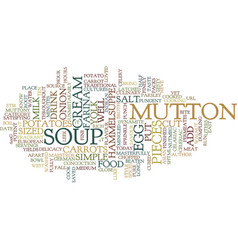 Fragrant hammelsuppe text background word cloud vector