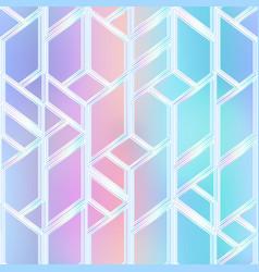 pastel color mosaic pattern vector image