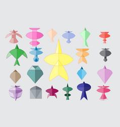 Thai kite vector
