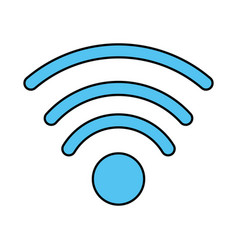 Wifi signal icon image vector
