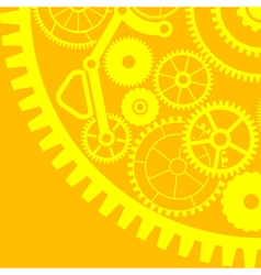 gear background third variant vector image