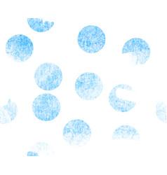 blue watercolor seamless circles vector image