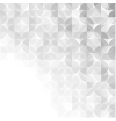 abstract gray modern geometric background vector image