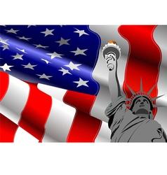 al 0740 flag 02 vector image