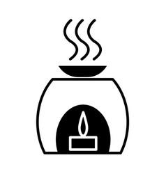 aromatherapy spa treatment icon vector image