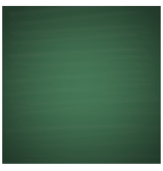 Blank green chalkboard background vector image