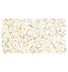 gold stars confetti celebration vector image