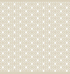 Golden geometric seamless pattern in ethnic style vector