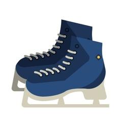 ice skates icon vector image