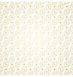 Luxury golden art deco seamless pattern vector