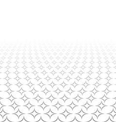 Monochrome seamless 3d star design vector
