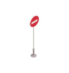 parking forbidden sign vector image